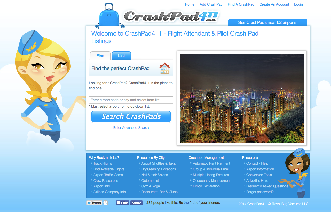 Crashpad411 Website Link