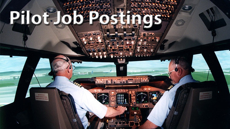 Pilot Job Postings Website Link