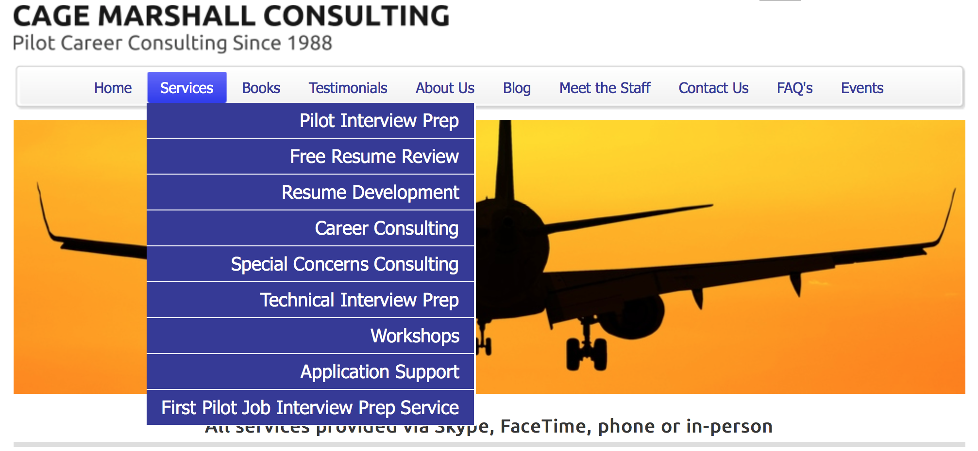Cage Consulting Website Link